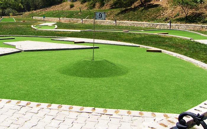Construction of Golf Ground