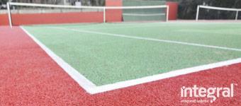 Tennis court construction 5