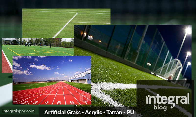 Artificial Grass Acrylic Tartan PU Parquet Pitch Construction Blog